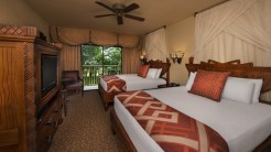 A Guest room at Disney's Animal Kingdom Lodge- Where to Stay Near the Orlando Theme Parks - The Trusted Traveller