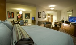 A guest room at Universal's Hard Rock Hotel - Where to Stay Near the Orlando Theme Parks - The Trusted Traveller