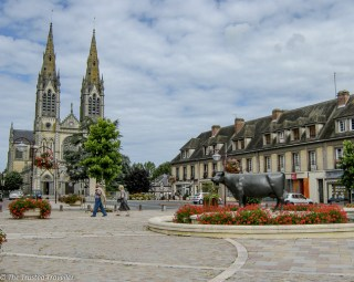 The town of Camembert - The Best of France: A Two Week Itinerary - The Trusted Traveller