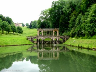 The Palladian Bridge in Prior Park, Bath - See the Best of England: A Three Week Itinerary - The Trusted Traveller