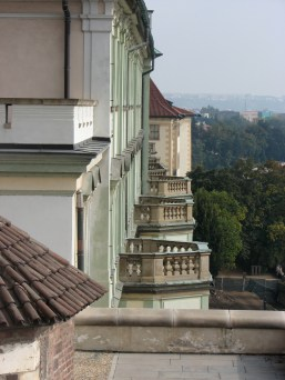 View from within Prague Castle