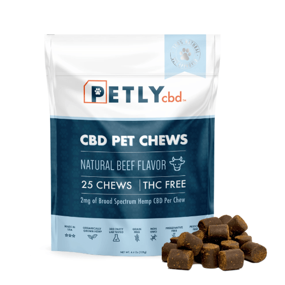 PETLY cbd chews for dogs