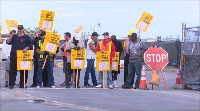 Despite Project Labor Agreement Union Dispute Shuts Down
