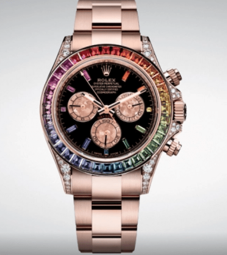 Rolex Rainbow Cosmograph Daytona in the flesh