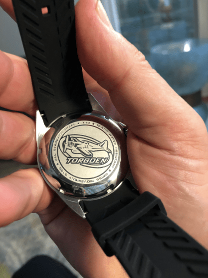 The Torgoen T10 is a [far-sighgted) pilot's watch (courtesy thetruthaboutwatches.com)