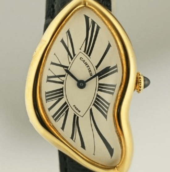 Crazy watches! Cartier Crash