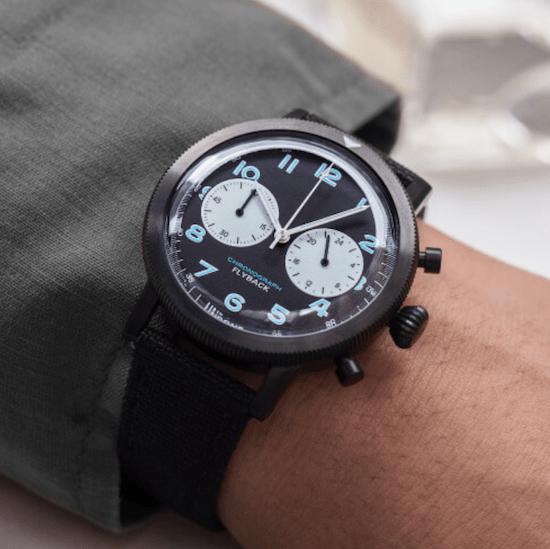 Urban TYPE XX Chronograph on wrist