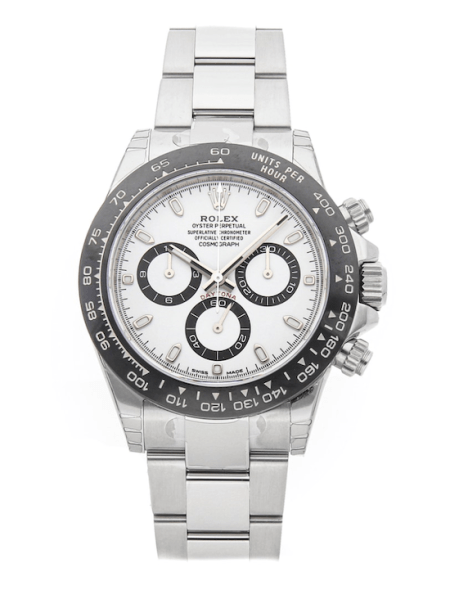 Rolex stainless steel Daytona in all its glory