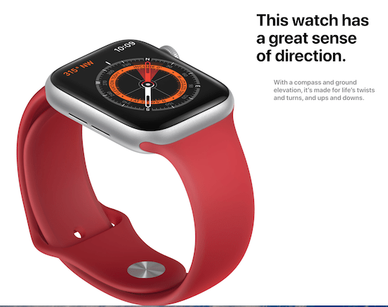 Apple Watch 5 shows you the way. Ish.