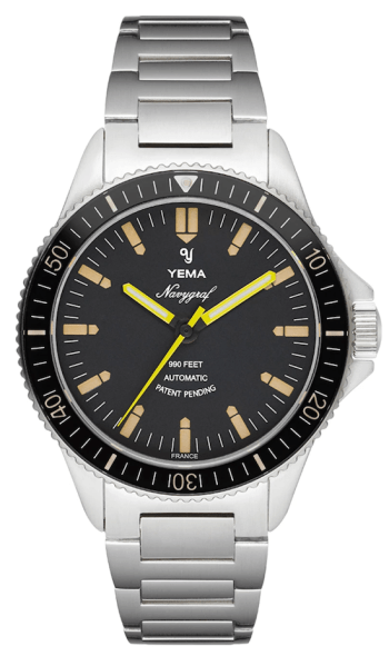Yeam Yema Navygraf Heritage: one of the best dive watches under $1000