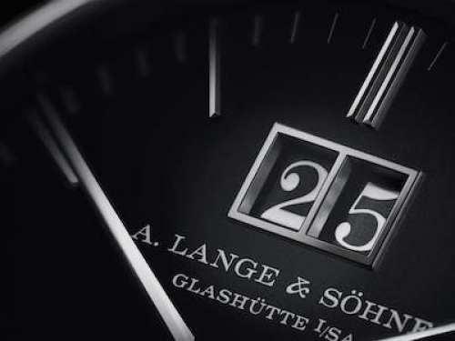 A. Lange & Sohne Saxonia Outsize Date