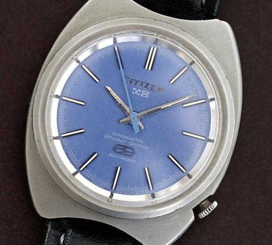 Citizen X8 - first ever titanium wristwatch (courtesy horbiter.com)