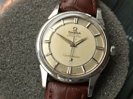 Gerald Genta designed 1959 OMEGA Constellation