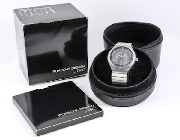 IWC Porsche Design Titanium Chronograph (courtesy maunderwatches.co.u)