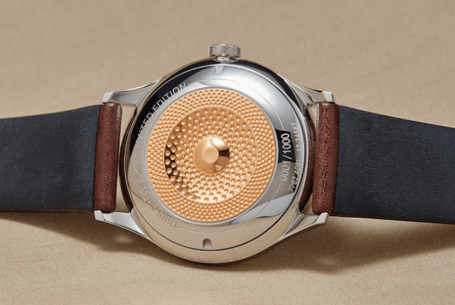 A cymbal of watchmaking excellence
