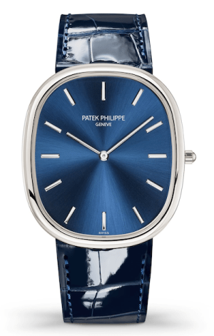 Patek Philippe Golden Elipse in blue