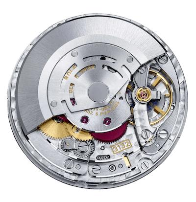 Rolex Explorer caliber 3132 movement