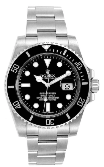 Rolex Submariner dive watch