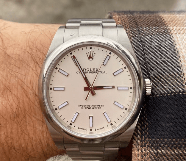 Entry level top watches: Rolex Oyster Perpetual 39