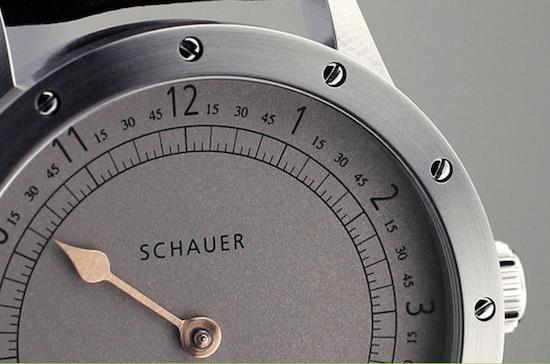 Schauer Uhren Einzeiger (courtesy schauer-germany.com)