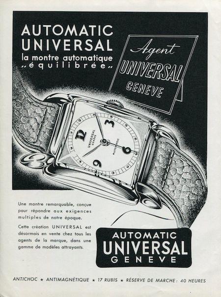 Universal Geneve Ad