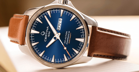 new watch roundup: Certina DS Action Day-Date Powermatic 80
