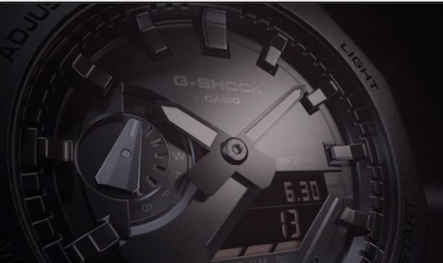 Close-up G-SHOCK GA-2100