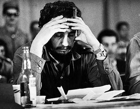 Fidel Castro double wristing Rolex