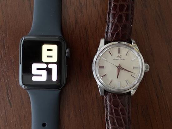 Grand Seiko vs. Apple Watch