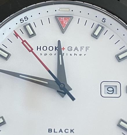Sportsfisher white dial