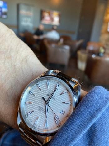 OMEGA Aqua Terra - first good watch