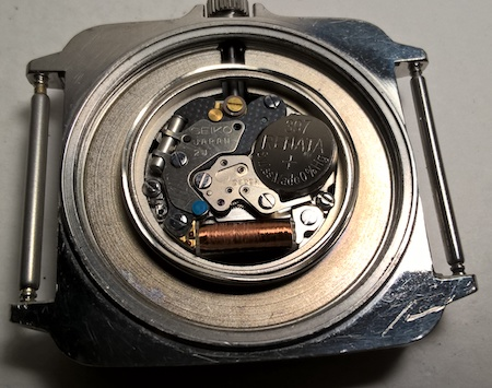 Seiko Silverwave movement