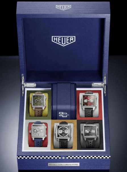 TAG Heuer Monaco Exclusive Limited Edition Set