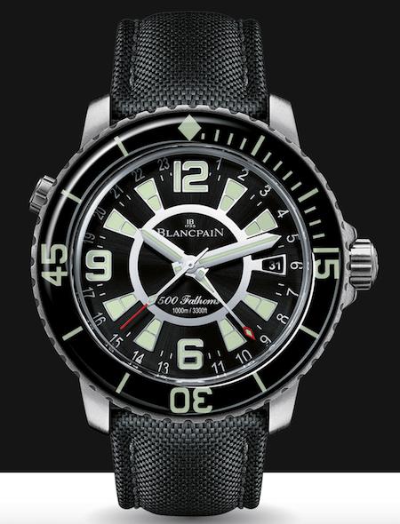 Blancpain 500 Fathoms GMT dive watch