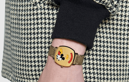 Mickey Mouse Gucci grip