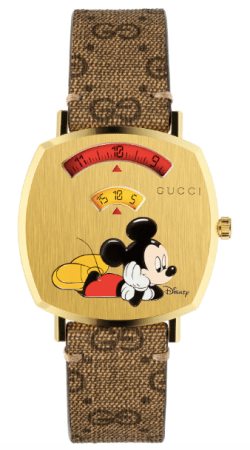 New watch alert: Mickey Mouse Gucci Grip