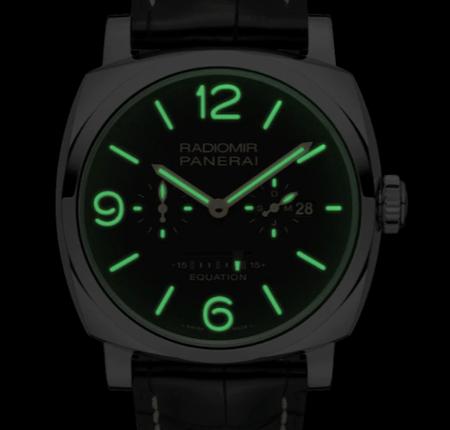 New watch alert - lume shot Panerai Equation of Time