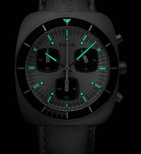 New watch round up - Brew Mastergraph Steel