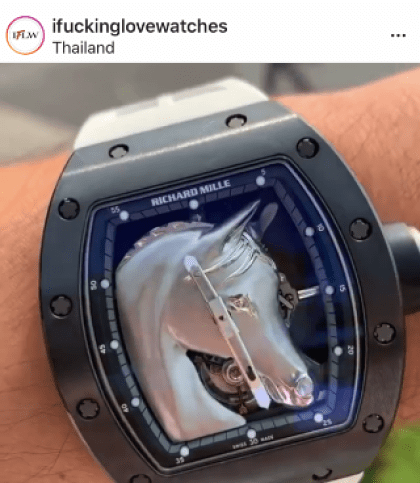 Richard Mille watches