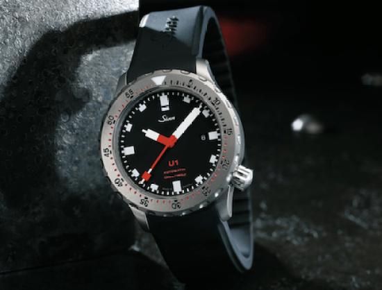 SINN submarine steel diving watch