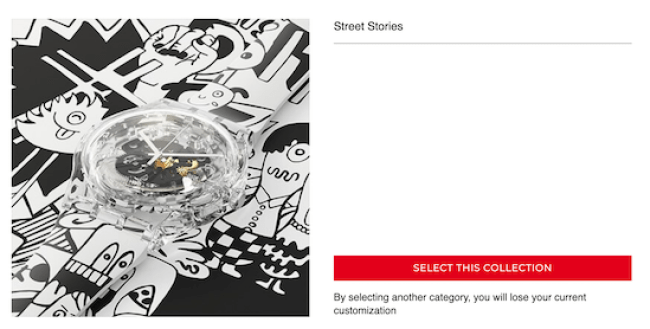 SWATCH X Street Stories collection