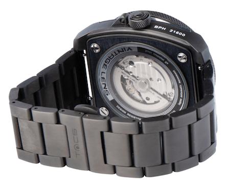 TACS AVL II Dark Metal Watch caseback