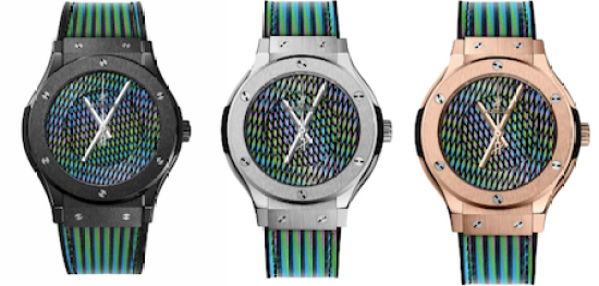 The Hublot Classic Fusion Cruz-Diez - new watch round up