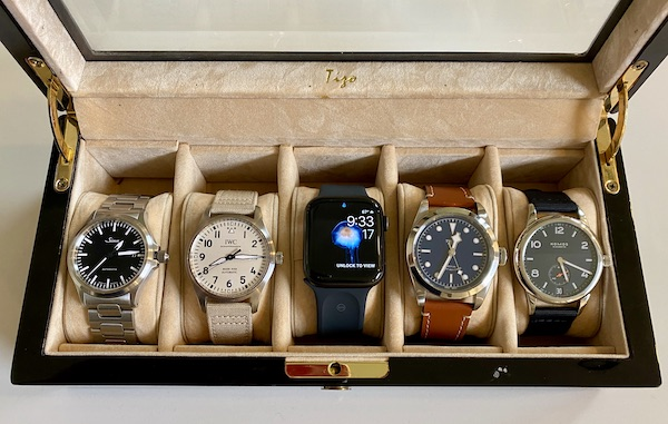 Apple Watch and trad watches