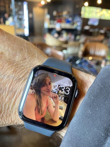 Apple Watch face 2