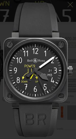 Bell & Ross cockpit classic - BR 01-97 CLIMB