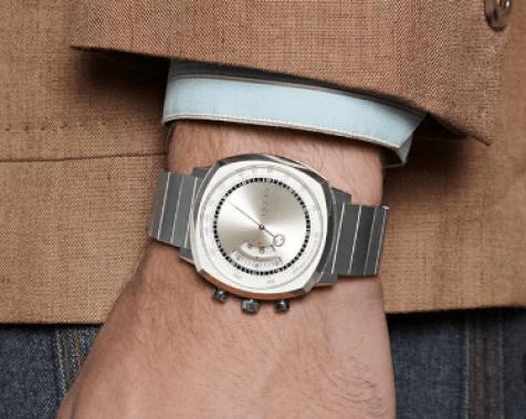 Gucci Grip in silver