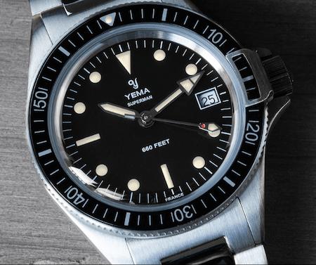 New watch alert! Yema Superman Heritage Quartz