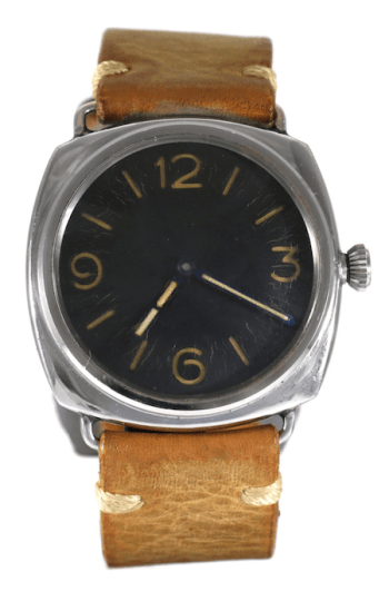 Non Rolex brand Panerai 3646 Type D, made for Nazi swimmers