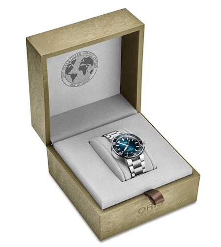 Oris Clean Ocean presentation box